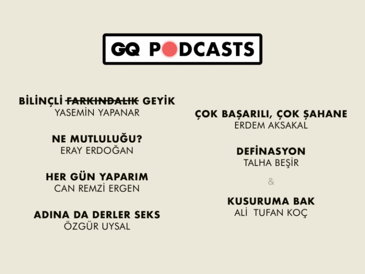 gq podcasts